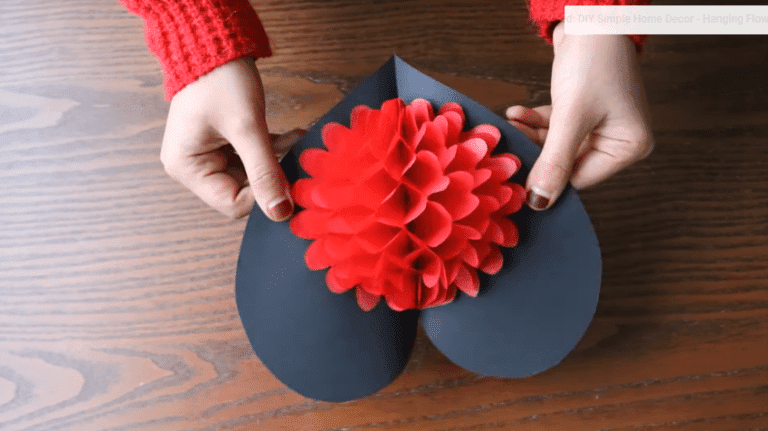 How to make flower pop up card crazzy craft diy flower pop up card paper crafts handmade craft mightylinksfo