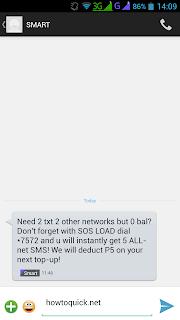 Smart SOS load