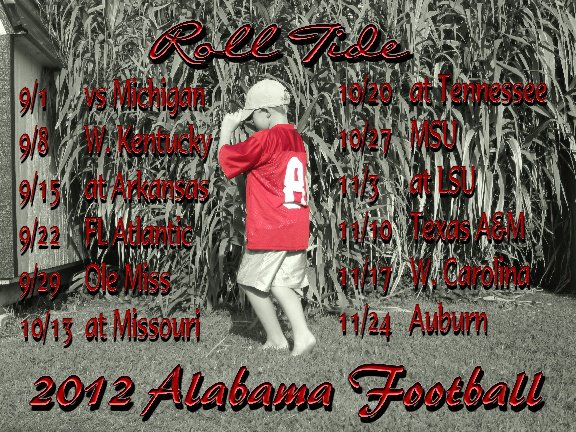 Livin Life Lovin Life I Love Alabama Football