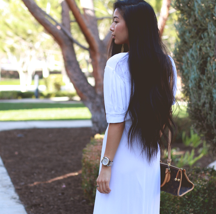Stephanie Liu of Honey & Silk in Reformation