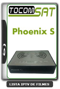 Tocomsat Phoenix S Nova Atualização Correção de Bug Reboot V1.31 - 29/02/2020