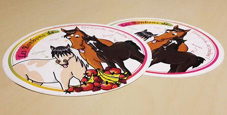 Les bonbons de' by la Sellerie Mega Horse