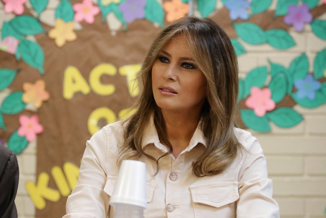 Melania Trump defiende a Lebron James