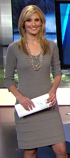 sexy Crystal Egger meteorologist