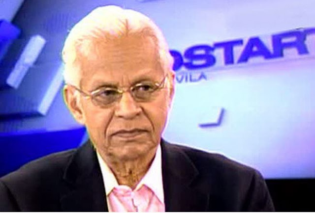 Veteran Sports Analyst Ronnie Nathanielsz Passed Away This Morning At The Age of 81