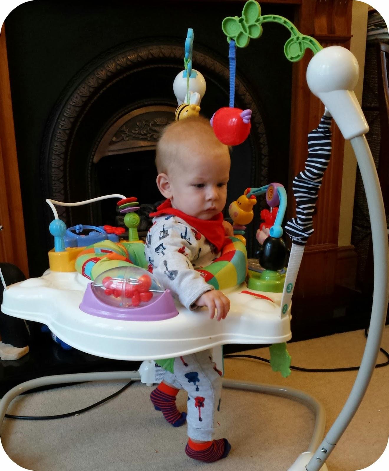 how to put together baby einstein jumper