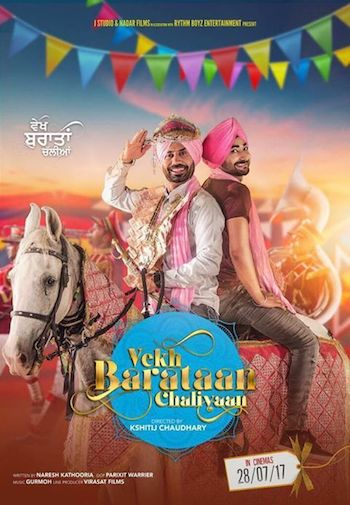 Vekh Baraatan Challiyan 2017 Punjabi Movie