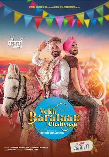 Vekh Baraatan Challiyan 2017 Punjabi Movie Download