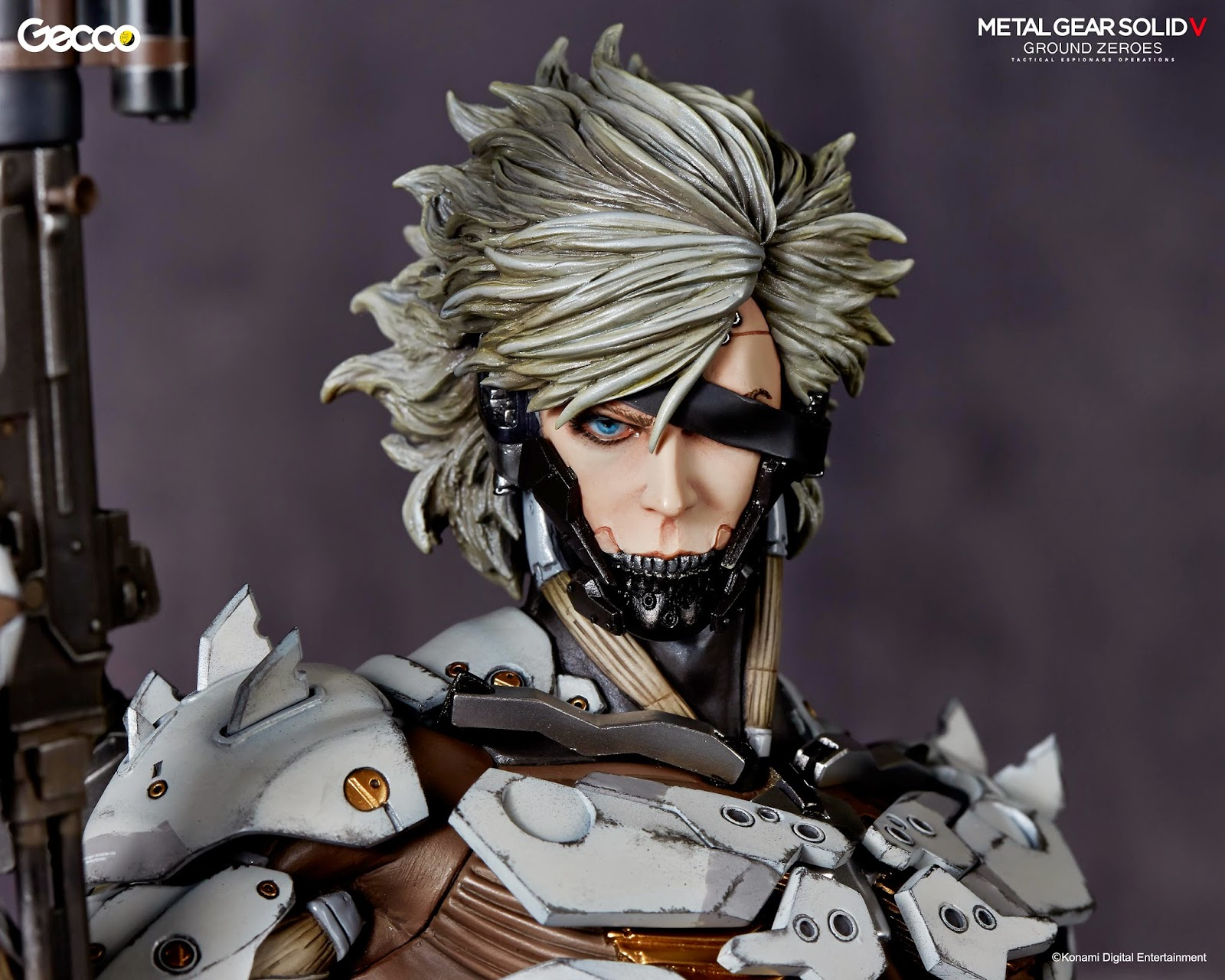 "Pop Up Paint Booth >> Collecting Toyz: Metal Gear Solid V: Ground Zeroes ""White Armor"" RAIDEN 1/6 Scale Statue SDCC ..."