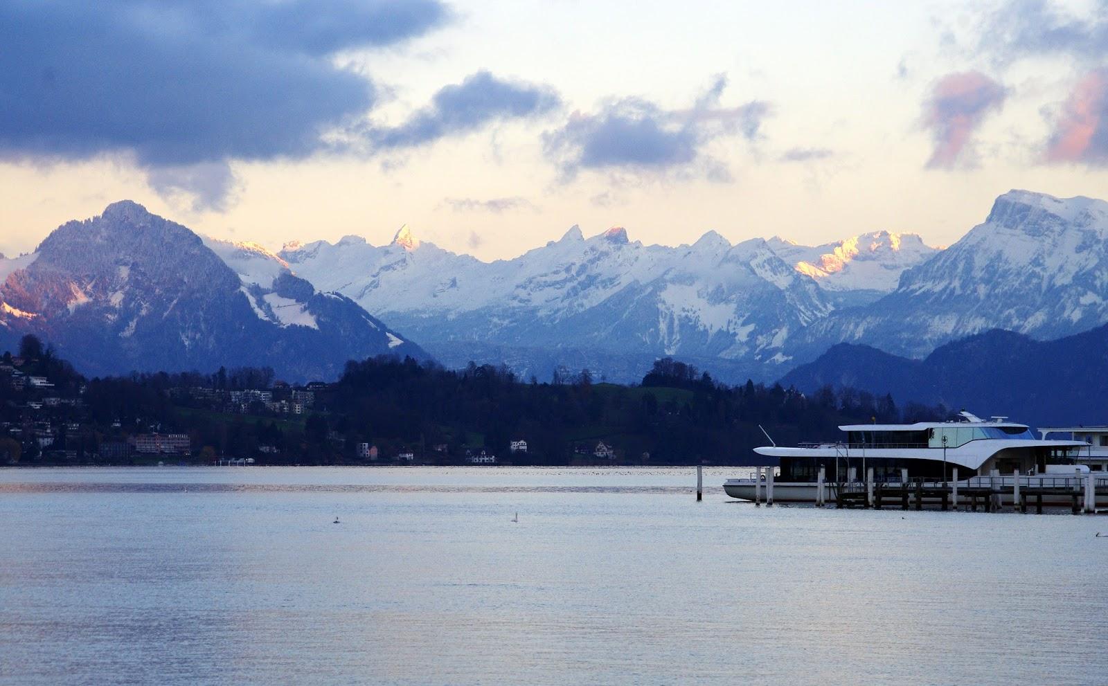 Lake Lucerne Alps