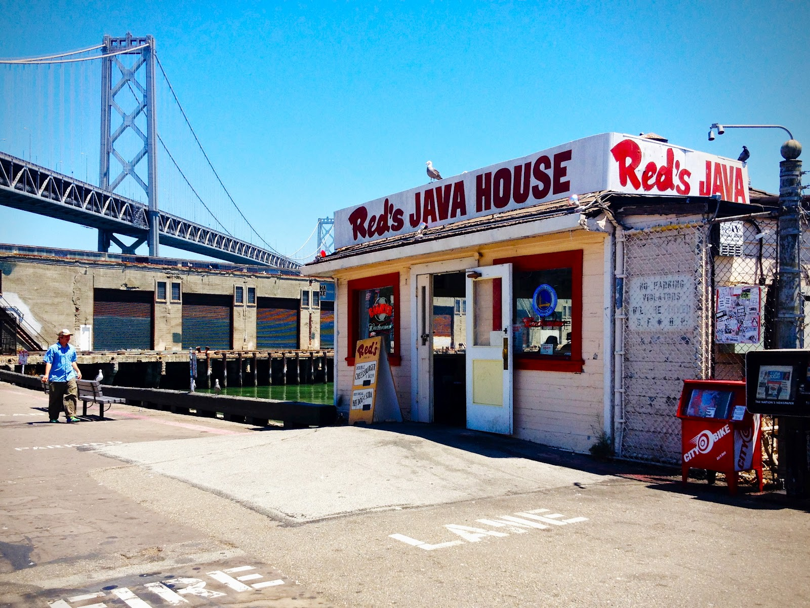 R is for: Red's Java House & Primo Patio Cafe {Restaurant ...