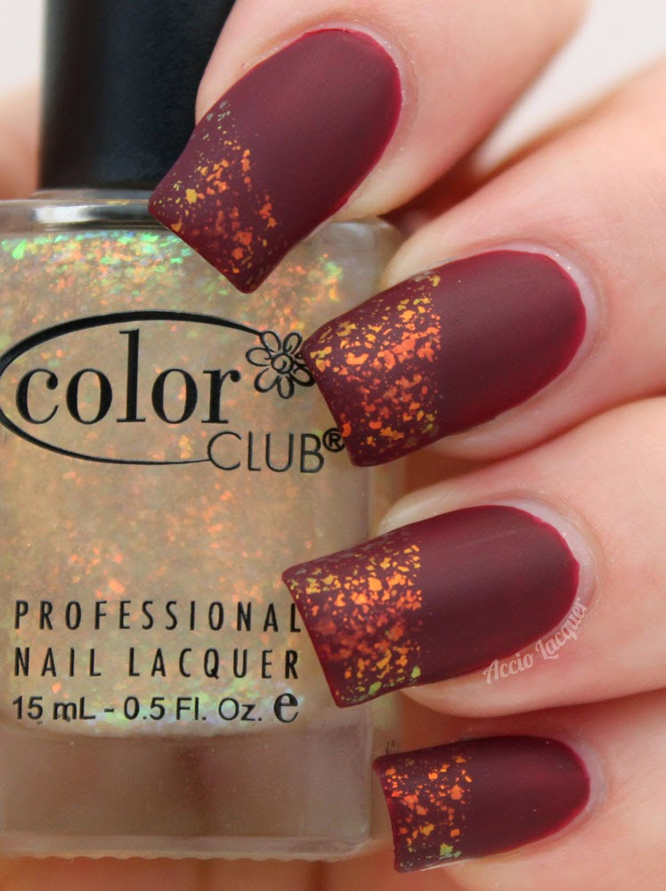 Snow flake from Color Club