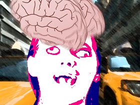 脳人間(素材使用)