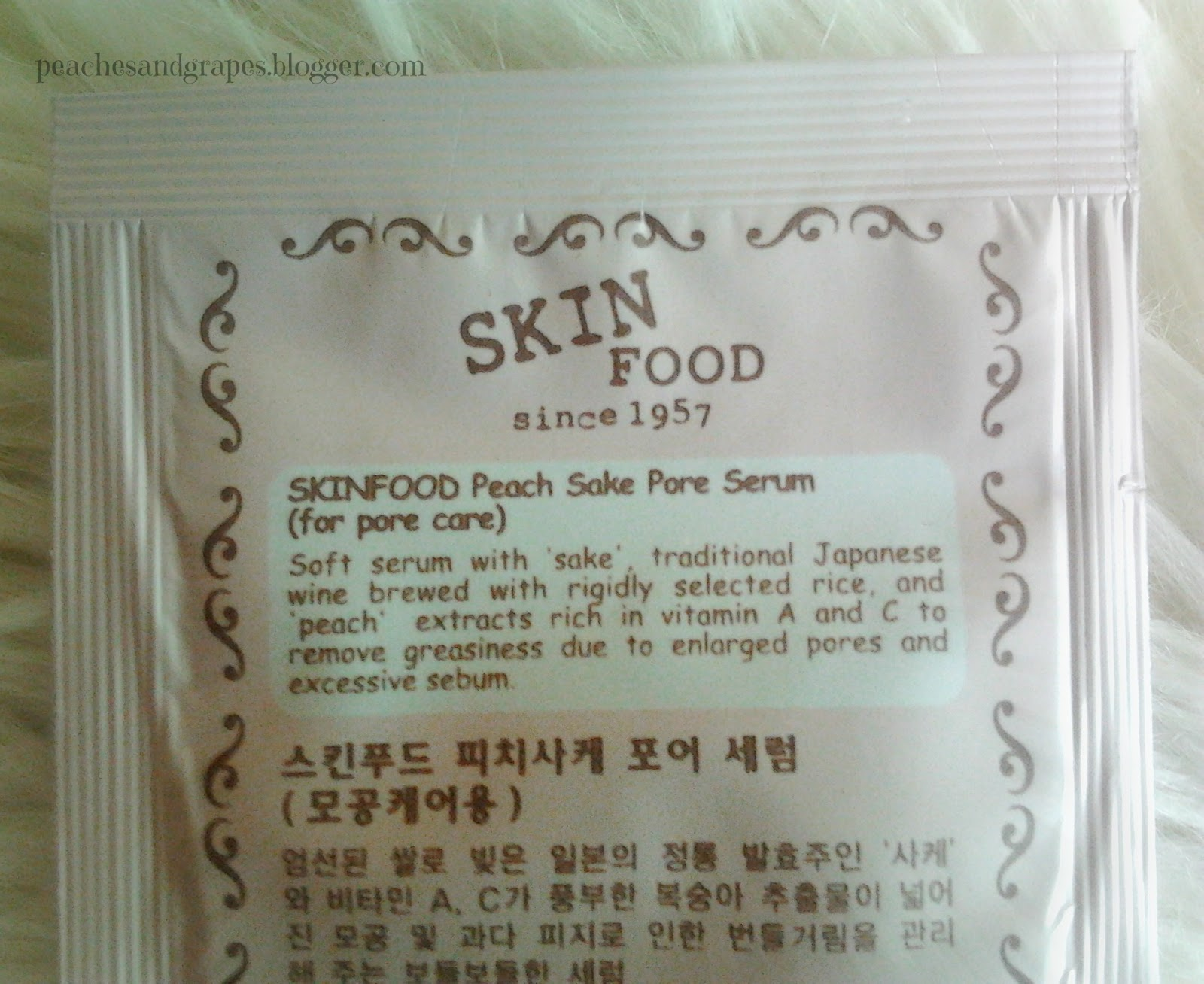 Peach Sake Pore Serum by Skinfood #13