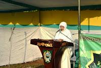 Idul Fitri di Lapangan Desa Talabiu, Bupati Ajak Masyarakat Sukseskan Program BIMA RAMAH