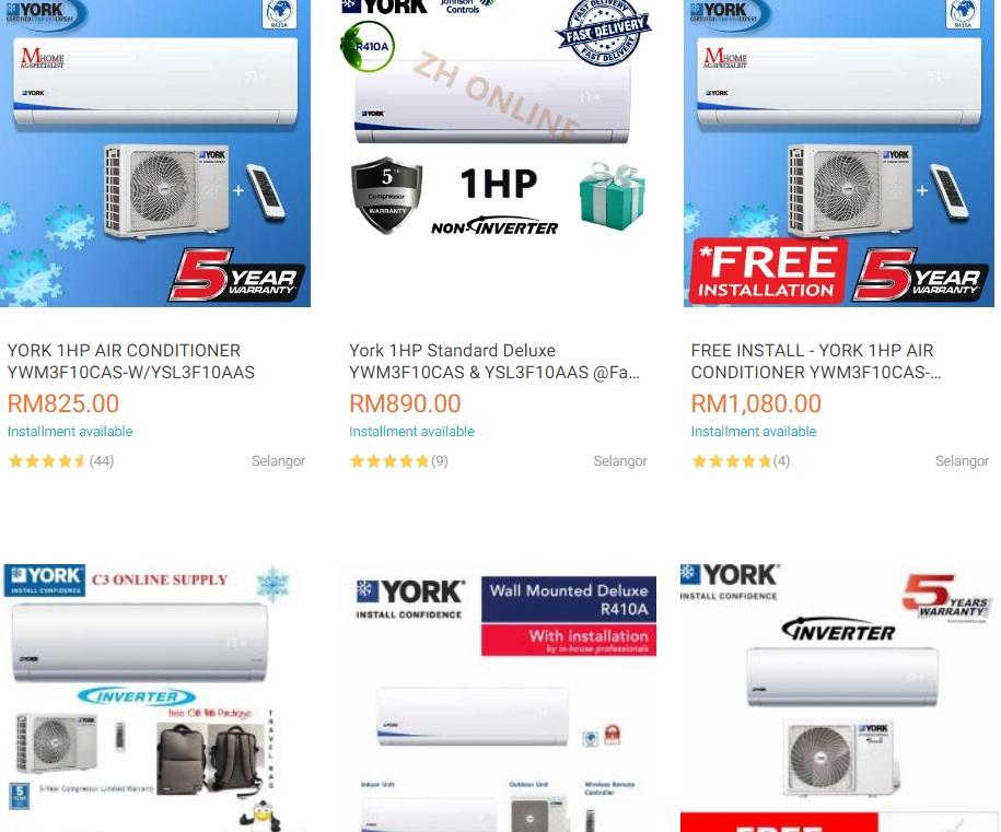 Panduan Membeli Aircond Secara Ansuran Di Online Store Mobile