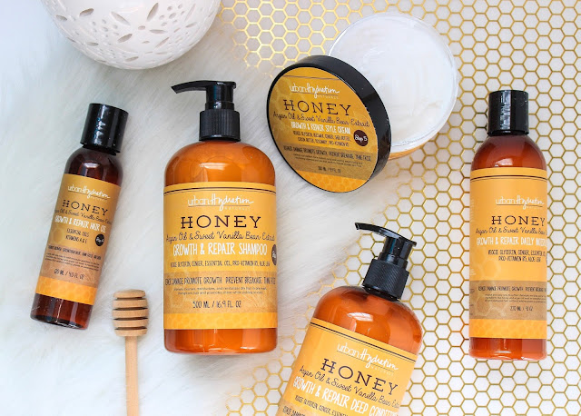 The BEST Protein-Free Products for Growing Long Natural Hair! Urban Hydration Honey Growth & Repair