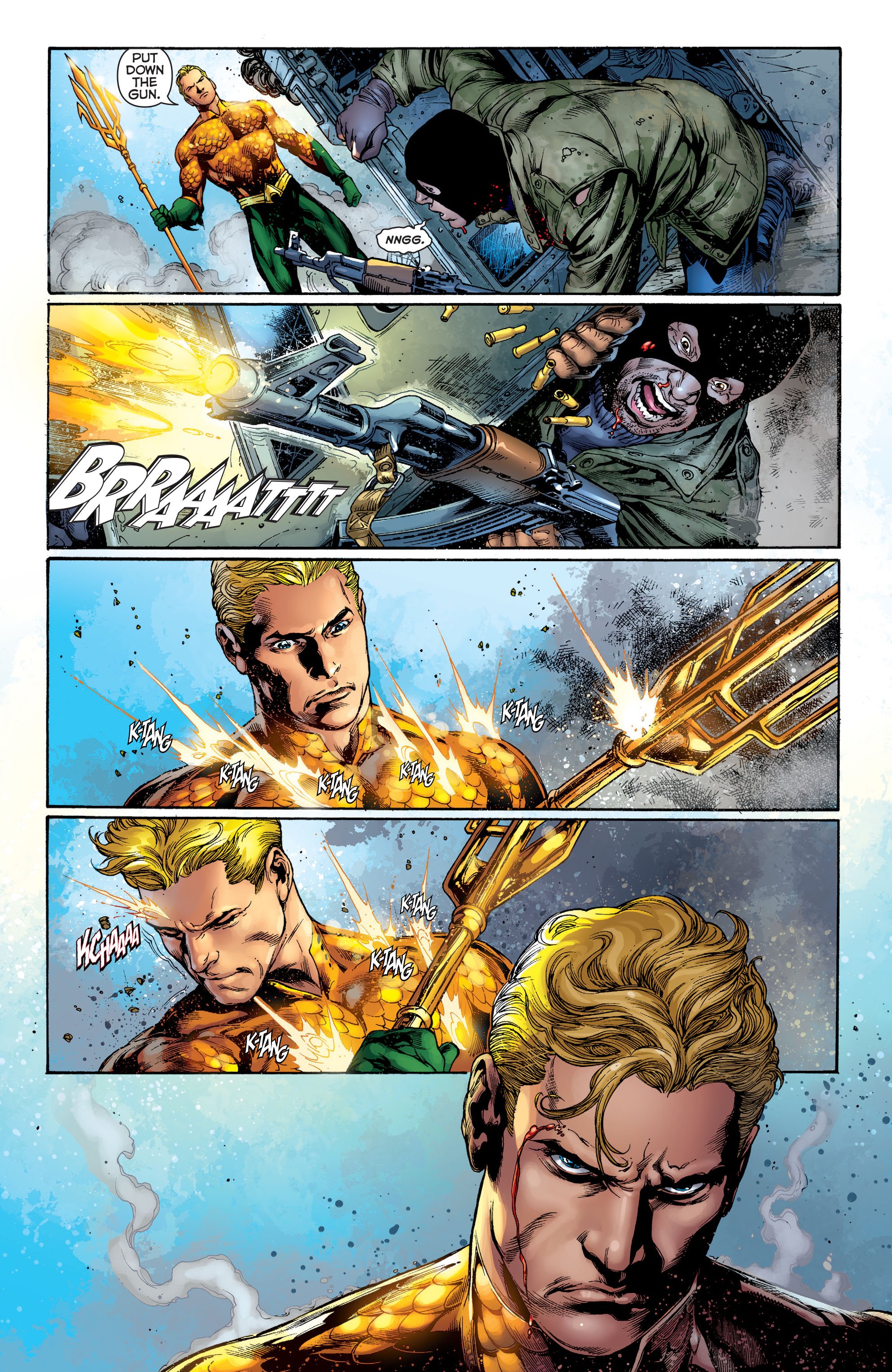 Read online Aquaman (2011) comic -  Issue #1 - 9