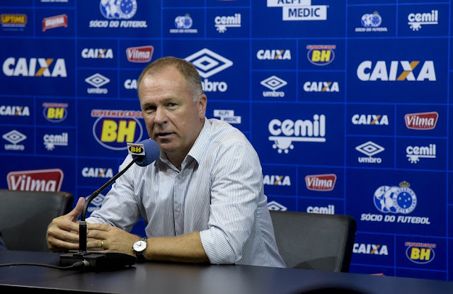 Mano Menezes, técnico do Cruzeiro Foto: Washington Alves/Light Press/Cruzeiro