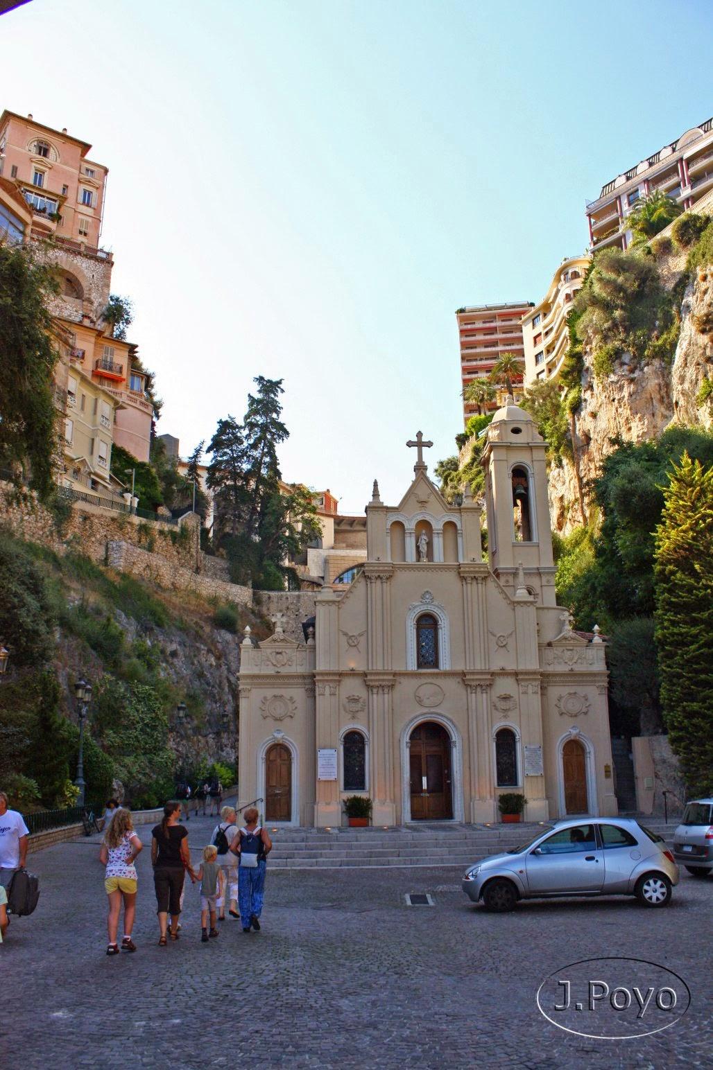 Iglesia Sainte-Dévote, Mónaco