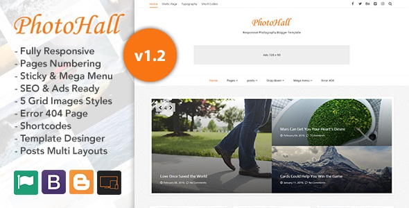 PhotoHall-Blogger-Template