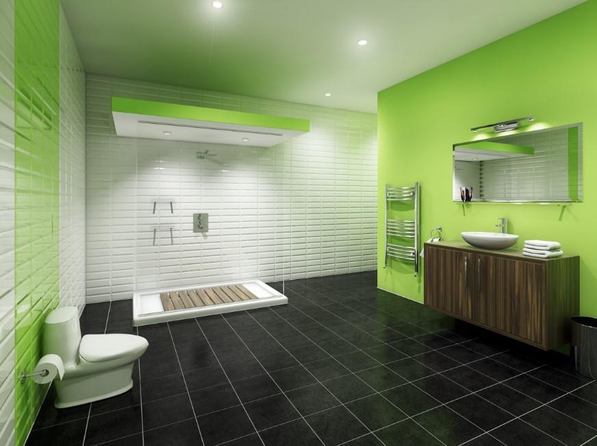lime green bathroom rugs or mats bathroom accessories - Bathroom Accessories Lime Green