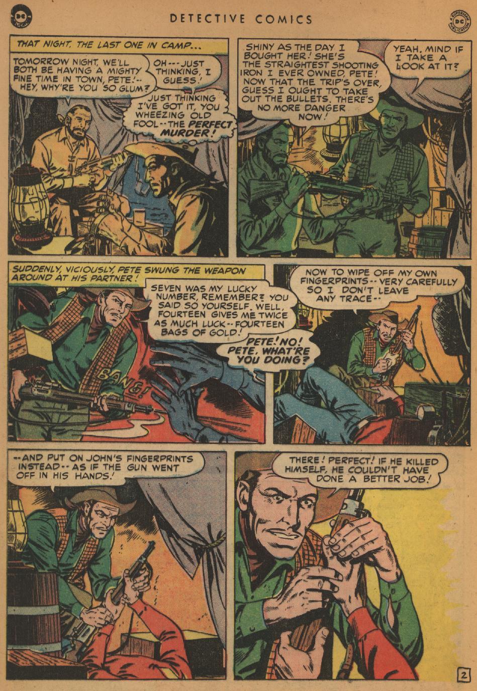 Read online Detective Comics (1937) comic -  Issue #152 - 34