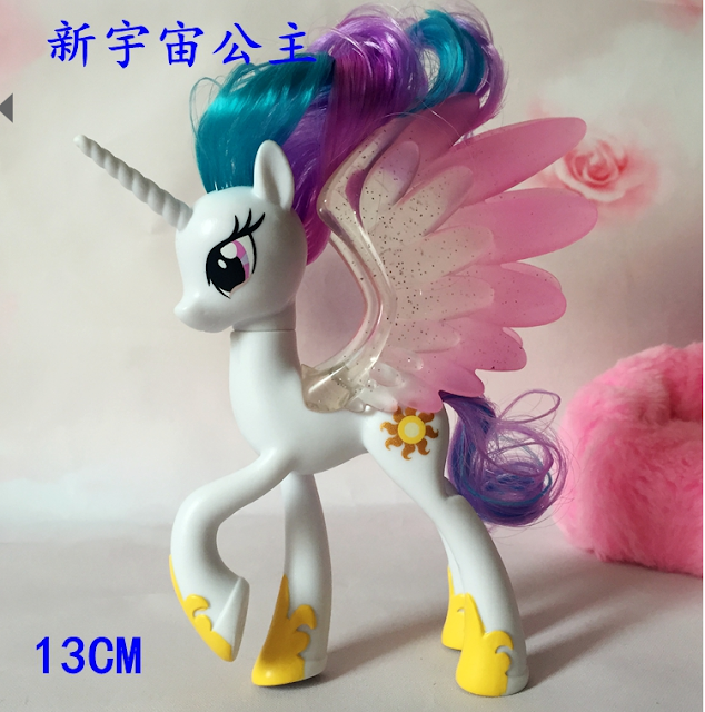 MLP Movie Brushable Pony Figures New Models / Molds Celestia