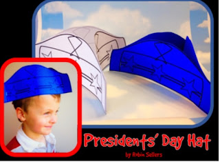printable presidents day craft