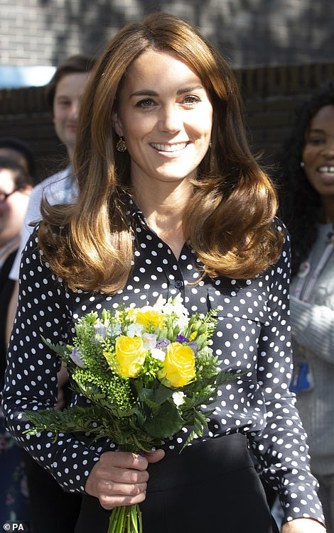 Duchess Kate Visits Sunshine House