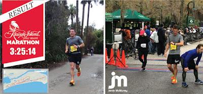 Jamie McMurray Completes First Half Marathon #NASCAR
