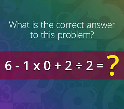tricky math equation