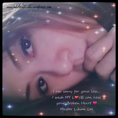 #masterlilianlai #sorryforyourloss #rip