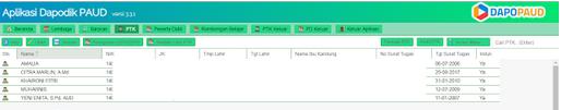 Geveducation:  Cara atasi PTK Baru Sudah Terdaftar di Manajemen PAUD dan Dapodik Online Tapi di Aplikasi Dapodik PAUD Belum