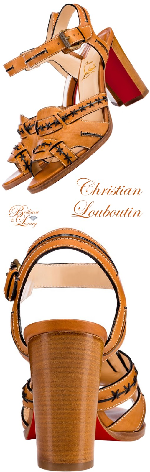 Brilliant Luxury ♦ Christian Louboutin Vavale Sandals