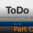 Tutorial - Creating a simple ToDo application - Part One