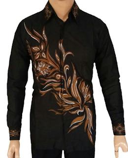 Model Kemeja Batik Pria Lengan Panjang