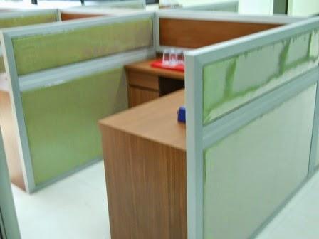 Cubicle Workstation - Meja Sekat Kantor - Pesanan Cepat - Semarang