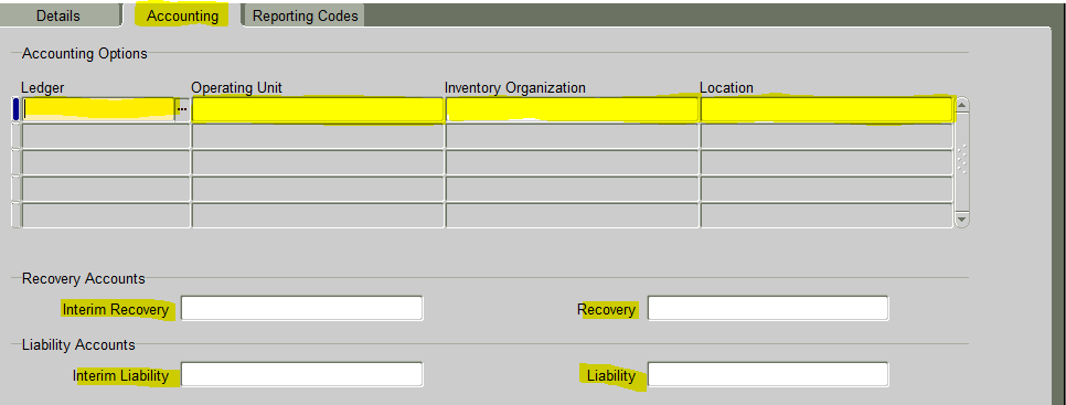 Part1 GST setup in Oracle Apps : GST configuration in Oracle Apps r12