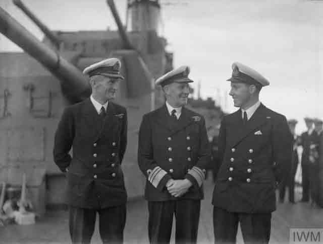 Admiral Somerville aboard HMS Hermione, 26 November 1941 worldwartwo.filminspector.com