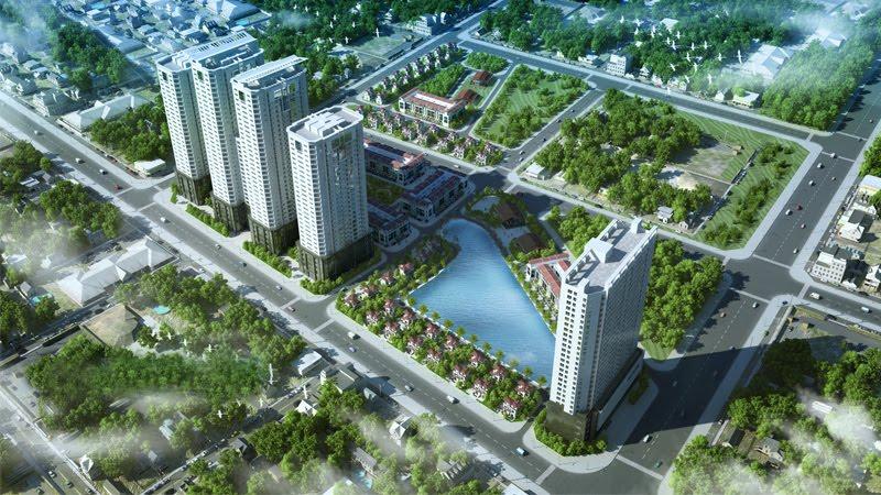 Phối cảnh tổng thể dự án FLC Garden City