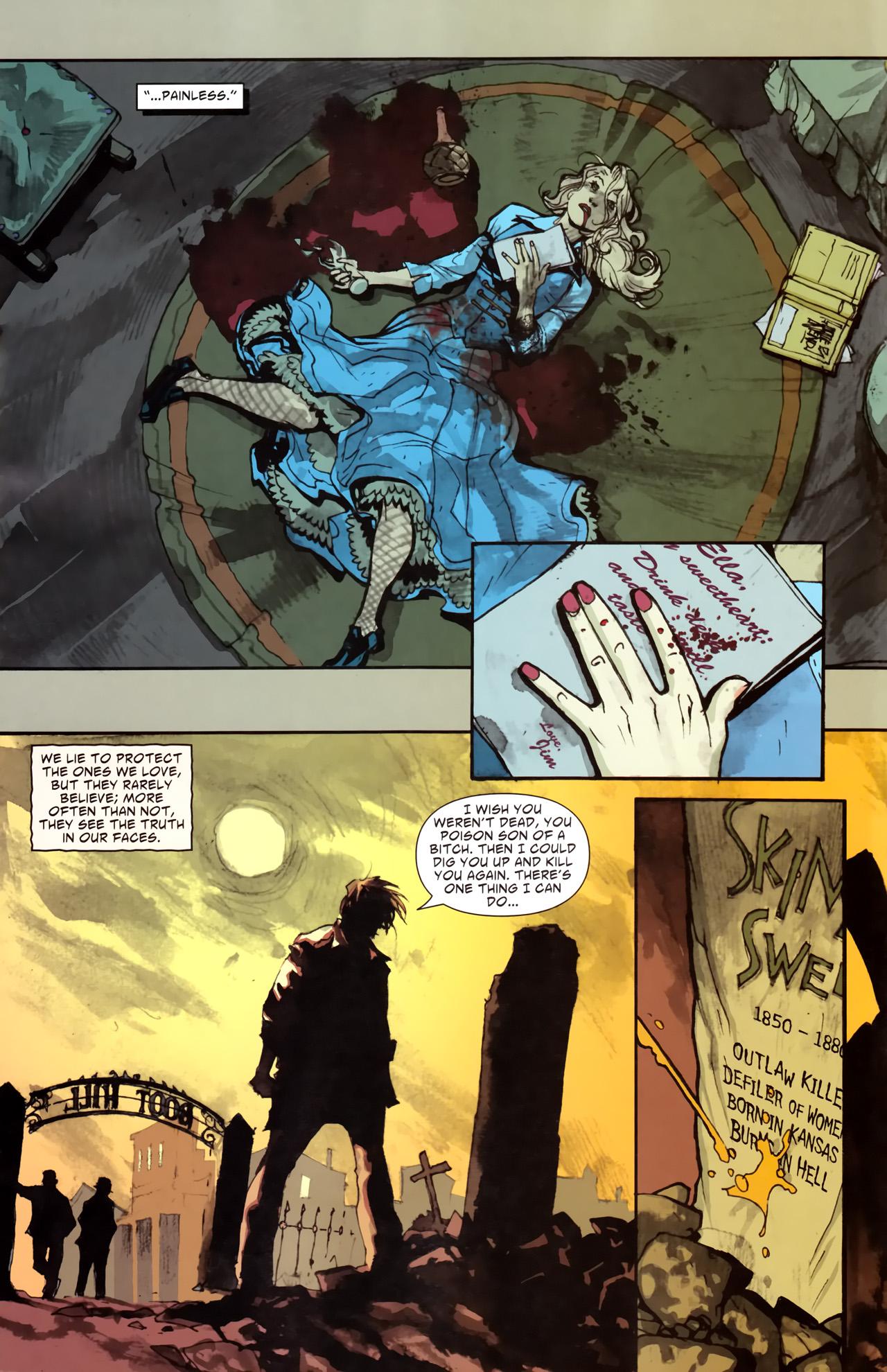 Read online American Vampire comic -  Issue #2 - 21