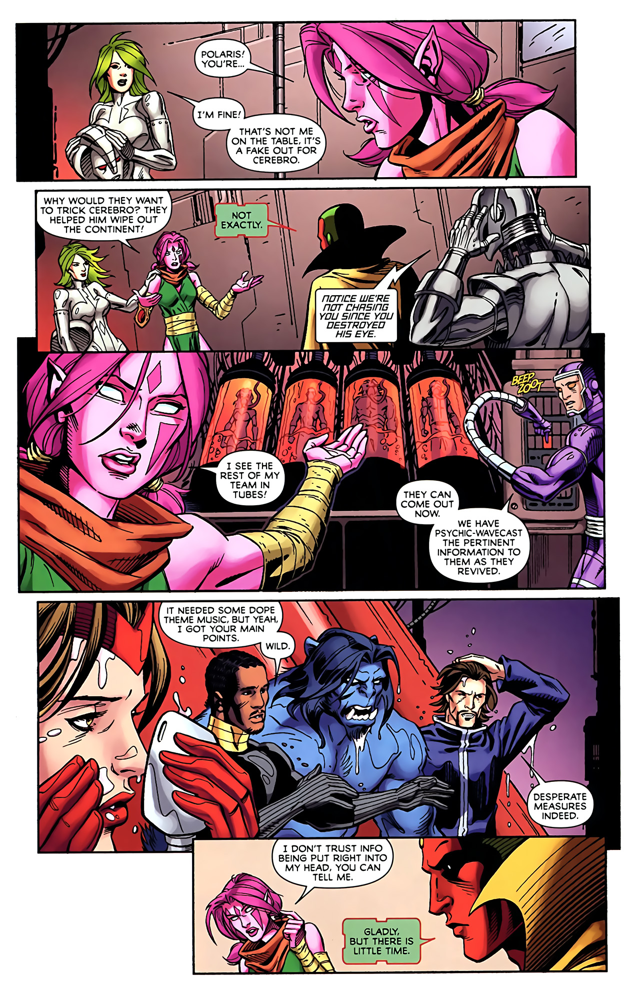 Read online Exiles (2009) comic -  Issue #5 - 8