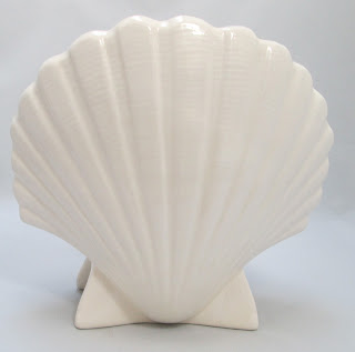 White Shell light with pink inside