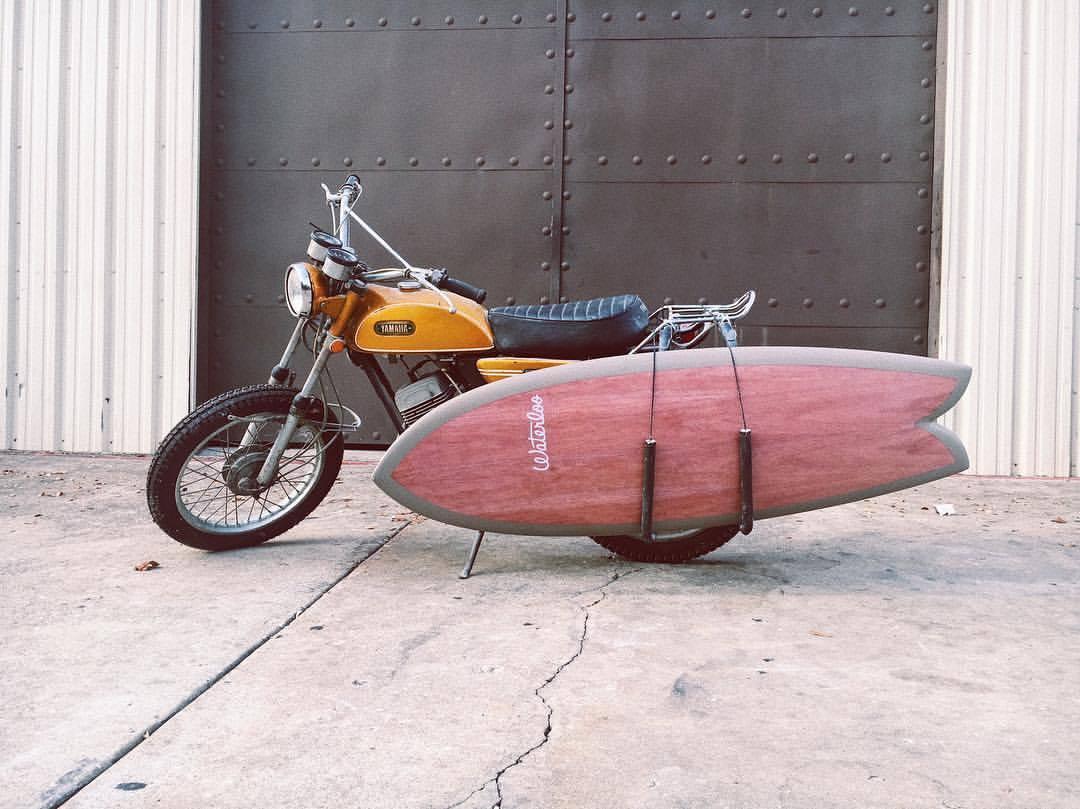 Alec Cameron: surf crafts para el lago