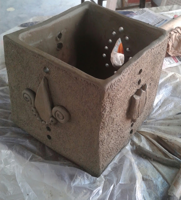 Clay Square box
