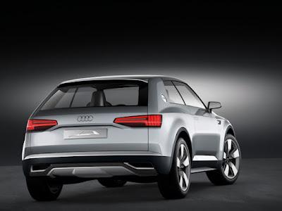 Audi Q8 SUV Concept Rear picture