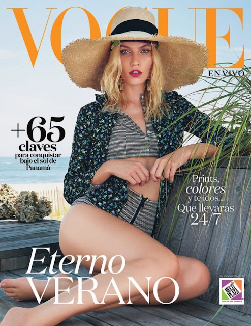 Fashion Model, @ Aline Weber - Vogue Mexico, September  2016