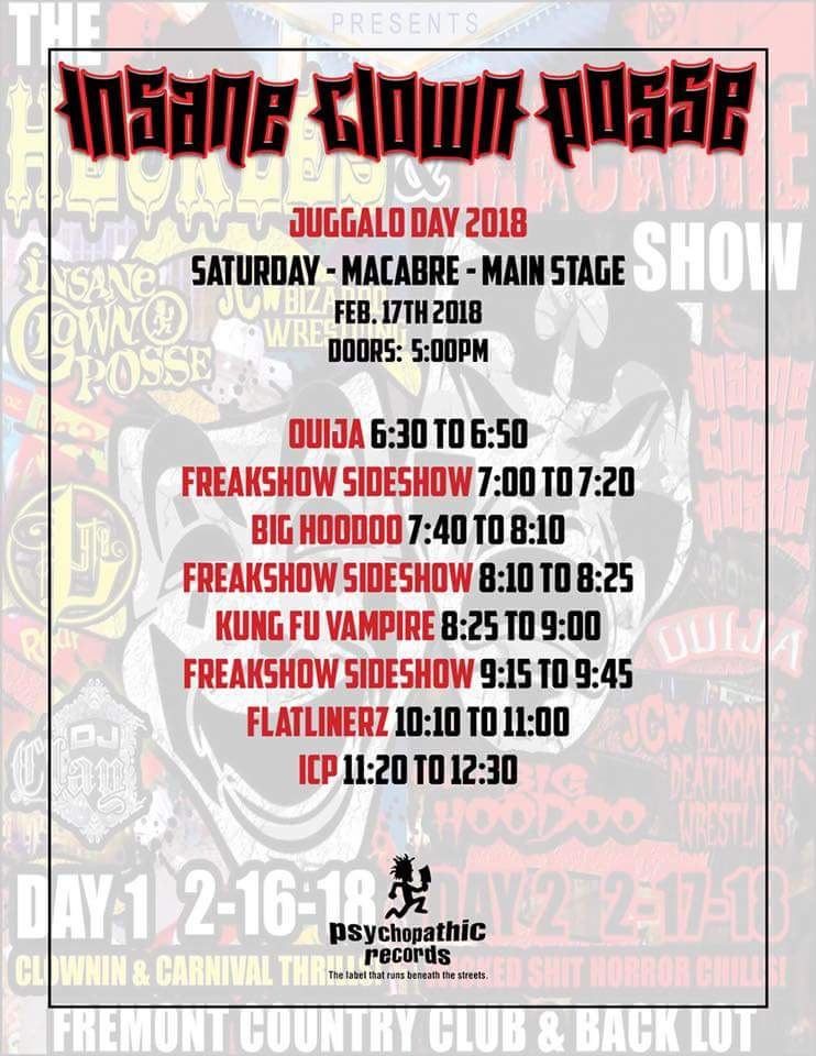 Juggalo Weekend 2018 Las Vegas
