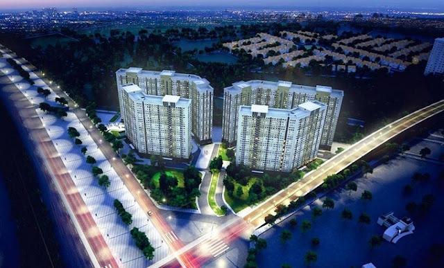 Phối cảnh tổng thể dự án Xuân Mai Complex